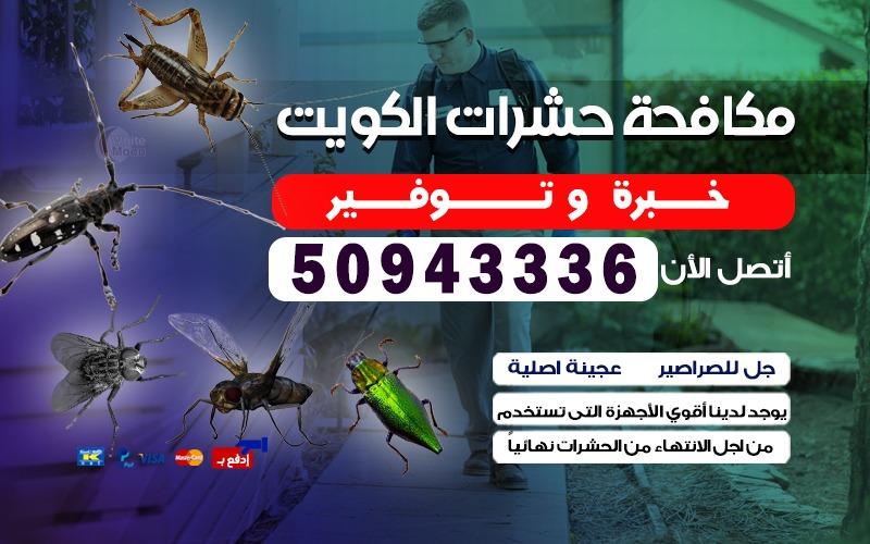 مكافحة حشرات الشعب 50943336 بالكويت