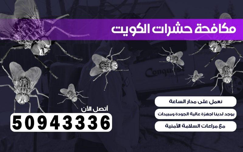 ابادة حشرات الفردوس بالكويت