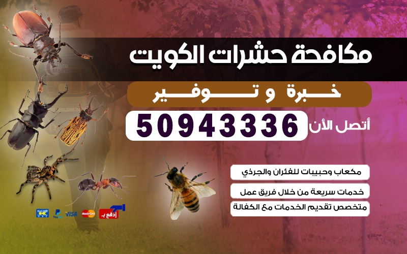 مكافحة الحشرات الصليبيخات
