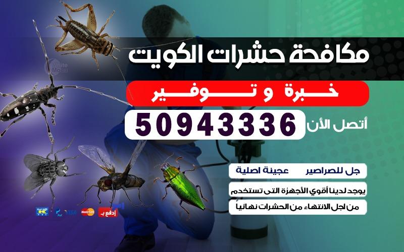 مكافحة الحشرات الخيران 50943336 الكويت