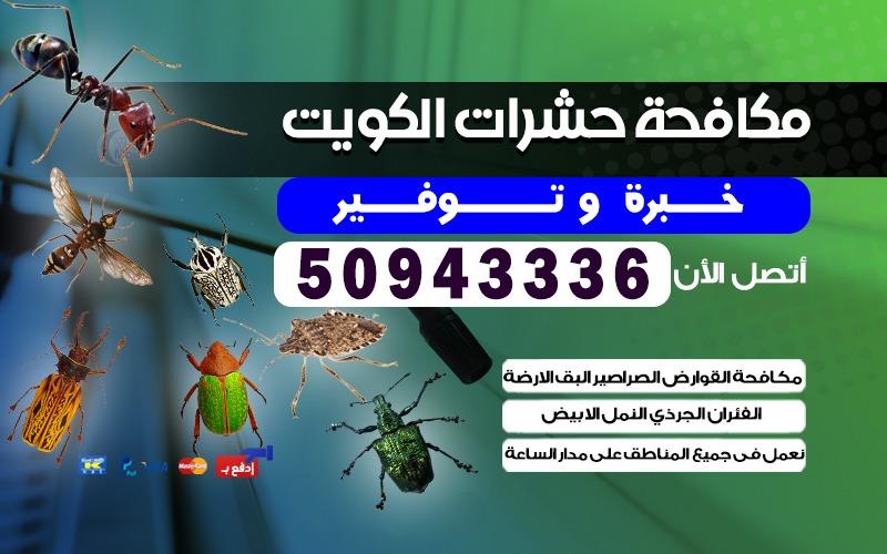 مكافحة القوارض شاليهات الصناعية 50943336 الكويت