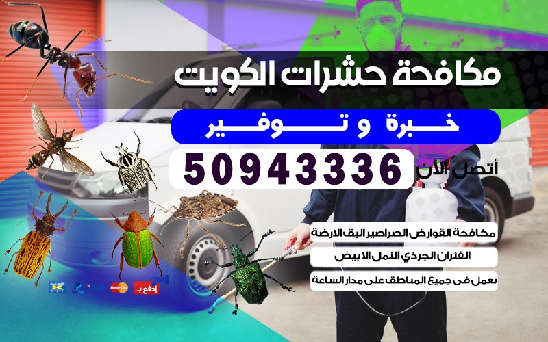 مكافحة حشرات عبدالله السالم