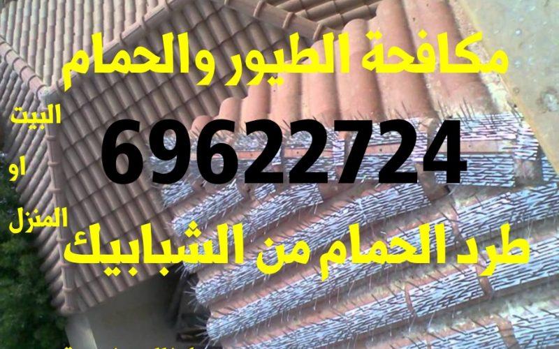 شوك طارد الحمام 51222132 طارد الطيور الكويت مع الكفالة