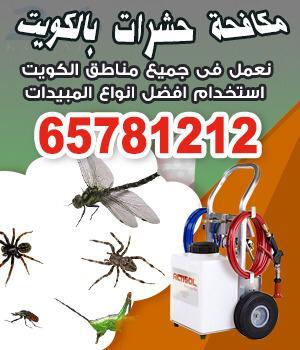 مكافحة حشرات القرين 65781212 بارخص الاسعار مع الكفالة