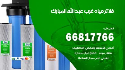 فني فلاتر مياه فني فلاتر مياه غرب عبدالله المبارك